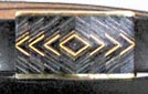 Black Hardwood Buckle
